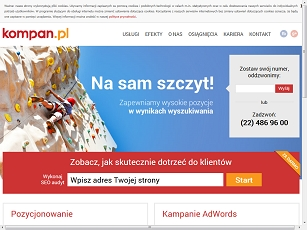 Marketing internetowy - firma Kompan